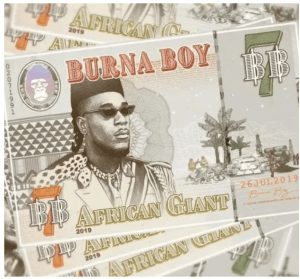 Picture of Burna Boy African Giant Mp3 Download