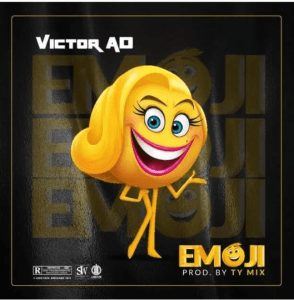 Photo of Victor AD song titled emoji