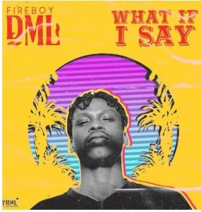 Picture of Fireboy DML What If I Say Mp3 Download